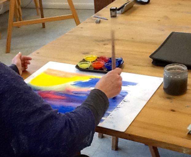 Kunsttherapie malen